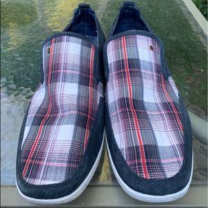 STEVE MADDEN Faderr Plaid Slip On Shoes Sz 13